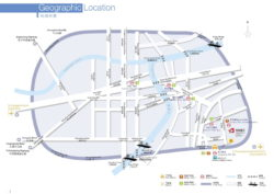 Graphic: Arrival plan - how to get to the fairground